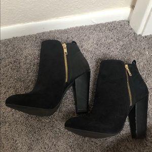 Mossimo - Black heeled booties